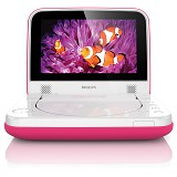 PHILIPS DVD Portable [PD7006P] - Pink - Dvd and Blu-Ray Player